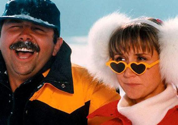 Les Gamins font du ski