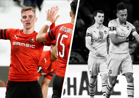Diffusion match retour Arsenal / Rennes