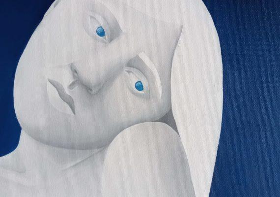 """Exposition """"Bleues"""" par Emma Real Molina"""